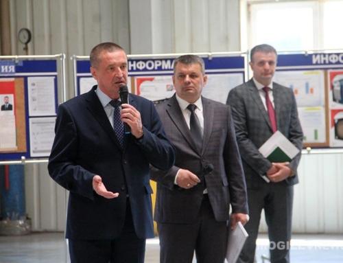 Губернатор Могилевской области Леонид Заяц посетил Осиповичи