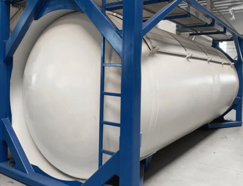 Изготовлены прототипы контейнеров-цистерн моделей Т50-225 и Т50-225.1