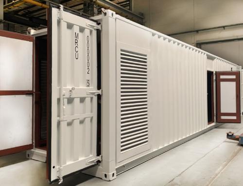 Запатентована разработка дизель-генераторной установки в контейнер