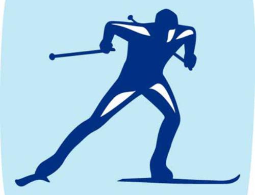 Соревнование по лыжным гонкам