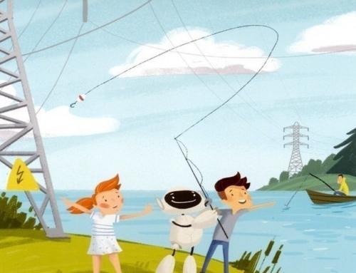 Рыбалка вблизи ЛЭП!!!